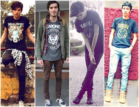 camisetas de banda
