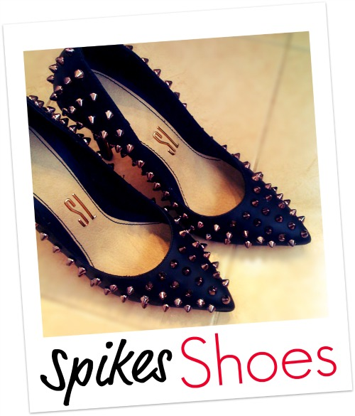 StyleCoolture - Spikes Shoes