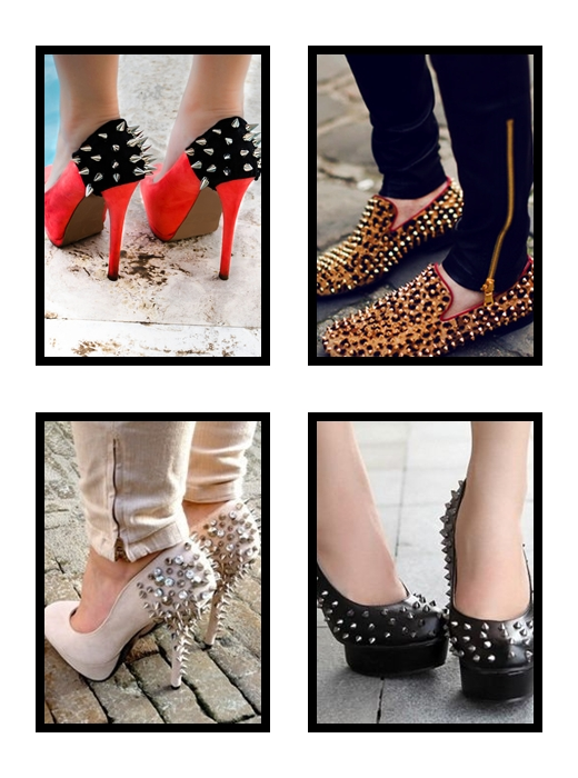 StyleCoolture - Spikes Shoes1