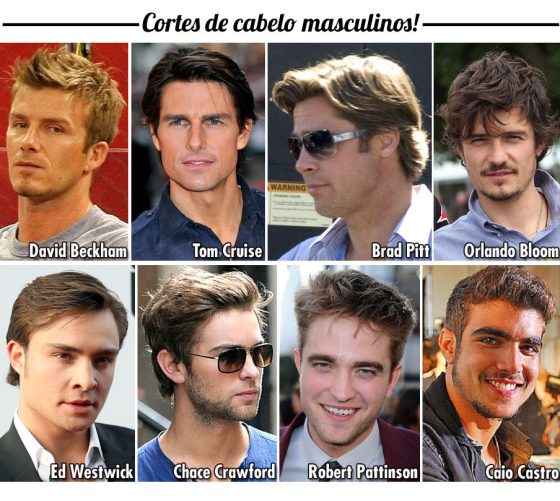 Cabelos masculino -  stylecoolture