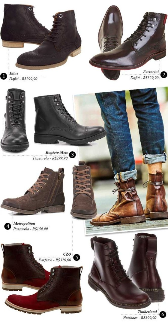 Men's lace-up boots 1 - Style Coolture